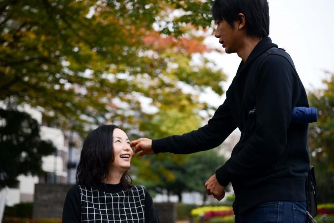 【写真】笑顔のゆりこさんと微笑んでいるよういちさん