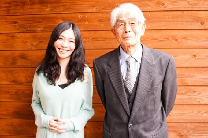 小澤いぶきさんと、お父さんの龍一さん