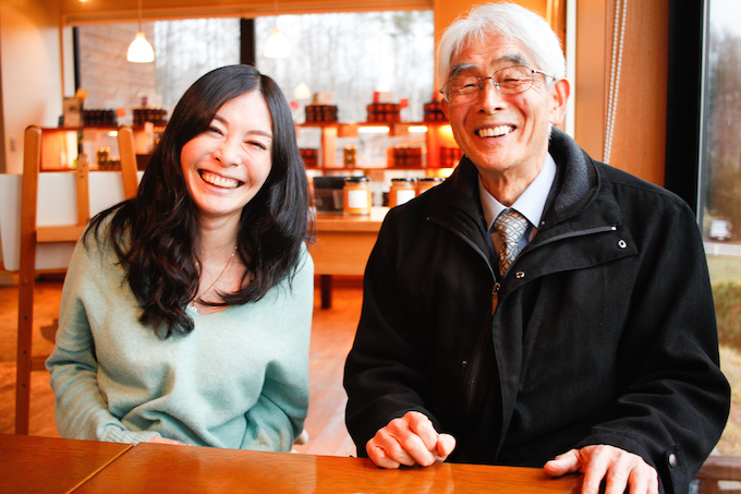 【写真】笑顔のおざわいぶきさんとおざわりゅういちさん