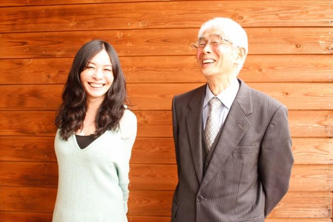 【写真】笑顔でインタビューに応えるいぶきさんとりゅういちさん。