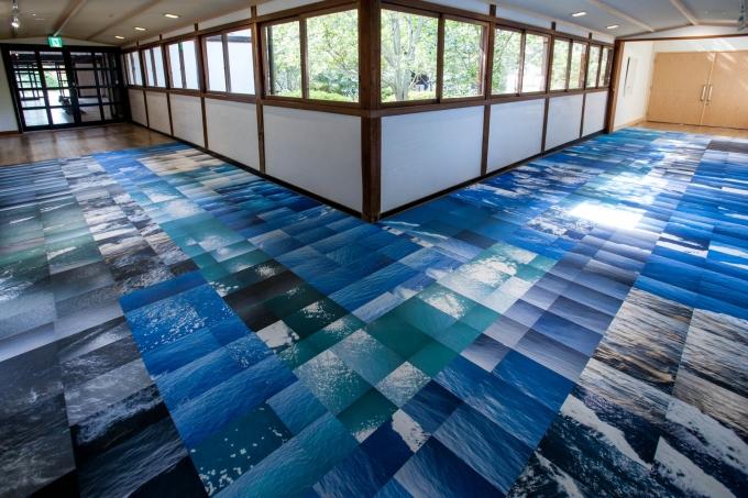 参考作品:James Jack《高松-那覇、航海》 2015 年