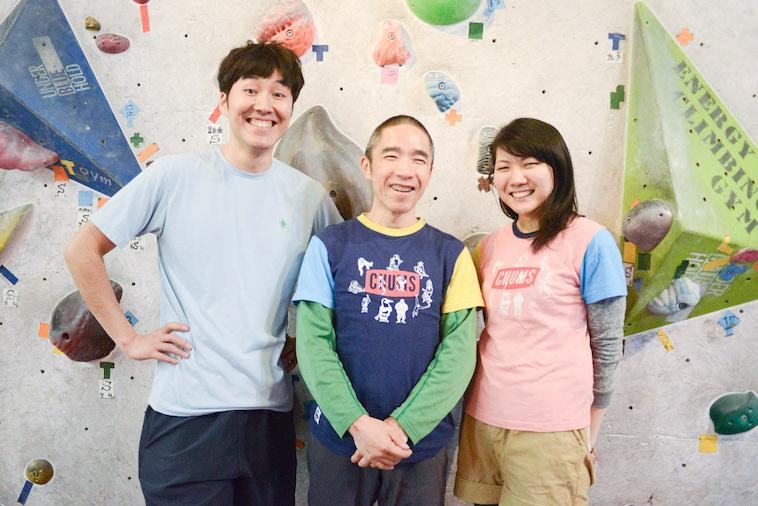 【写真】笑顔の水谷さんと内田さん、こばやしこういちろうさん