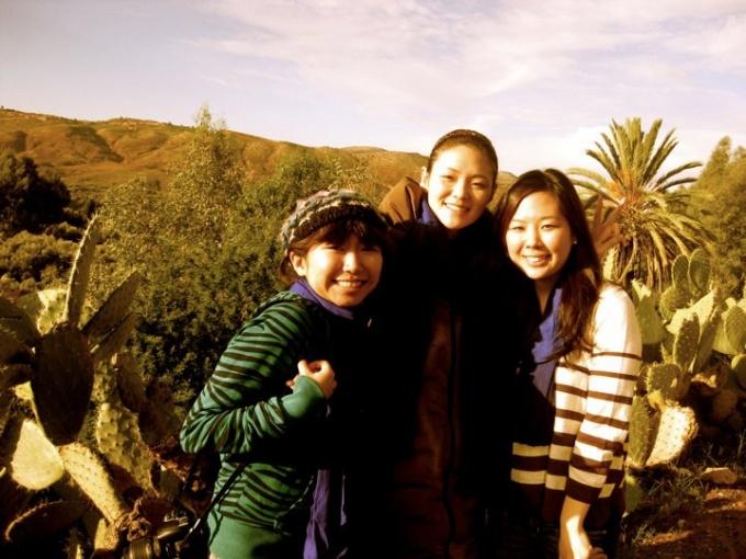 大学時代は留学をしたり、海外旅行を友人と楽しむことが多かった