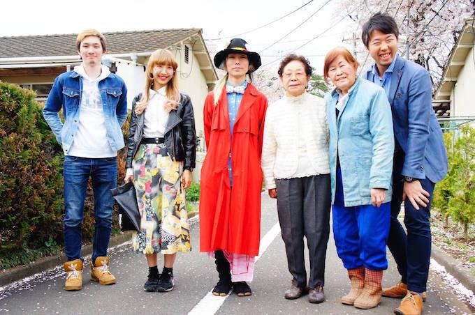 【写真】笑顔で並ぶてんぼのメンバー