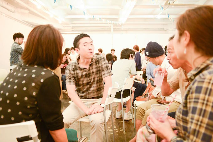 soar主催のイベントにもよく足を運んでくれる岩本さん。日常的に、様々な人との交流の機会をつくっています。