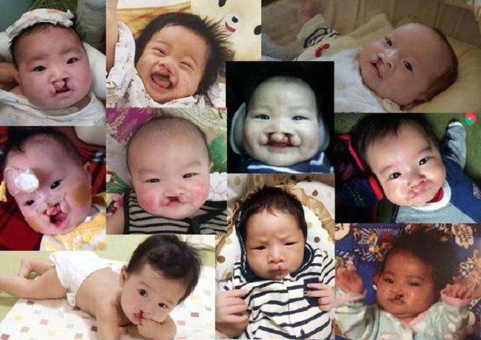 今回のプロジェクトに賛同してくださった方から寄せられた子どもたちの写真。笑顔が素敵!