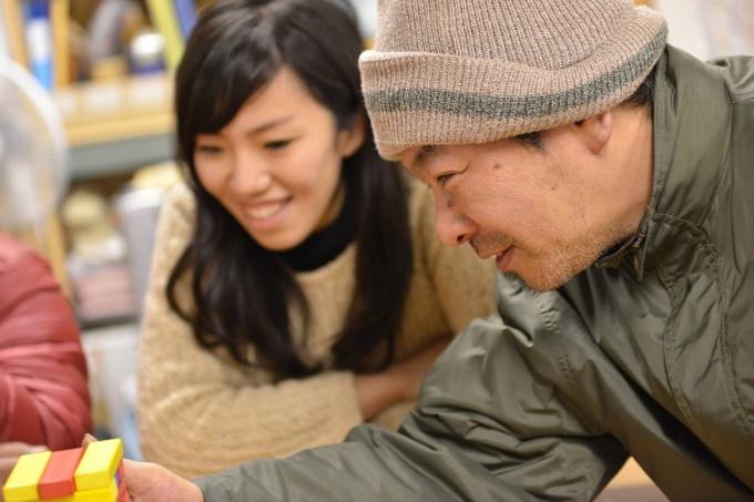 おっちゃんたちに自分らしく生きるきっかけを提供するため、生活支援と就労支援の講座「CHANGE」も開催