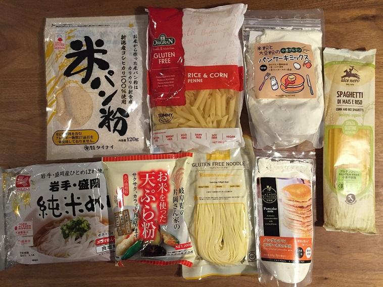 杉浦さんがリサーチを重ねて、ようやくたどり着いた食品の数々。