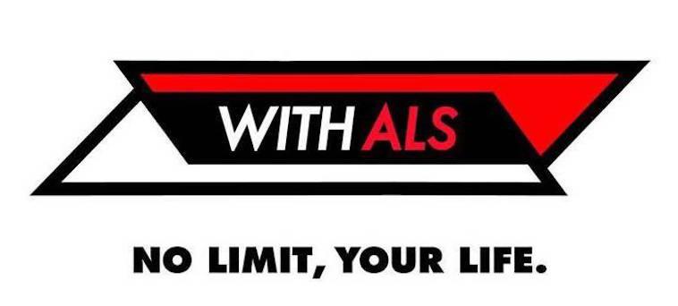 【イラスト】WITH ALSのロゴ。太い線で描かれていて、力強さを感じる。