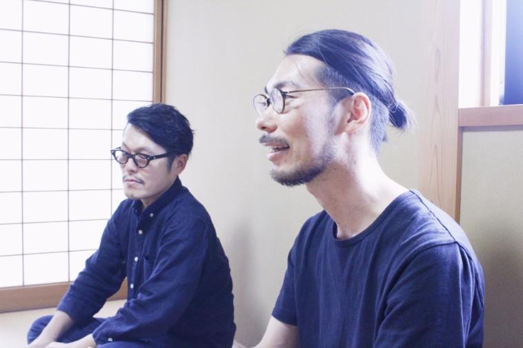 【写真】インタビューにこたえるなかのさんとたんじょうさんの力強い横顔