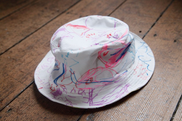 【写真】じょんぶるぬかの帽子