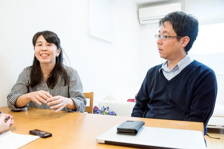 【写真】笑顔でインタビューに応えるくろきせいごさん、ゆうきさん