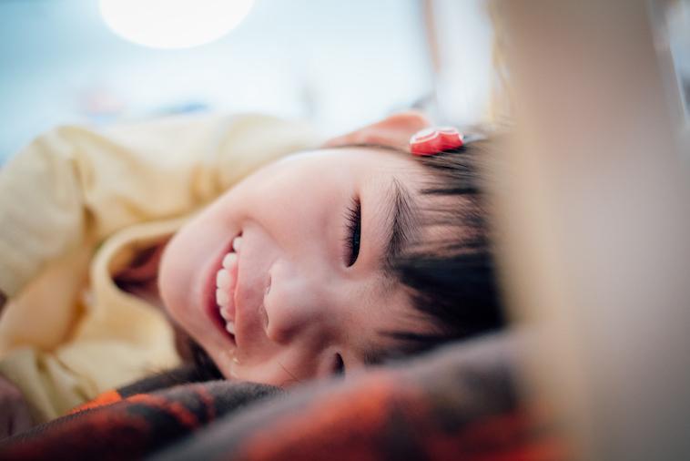 【写真】満面の笑みを見せるなおちゃん