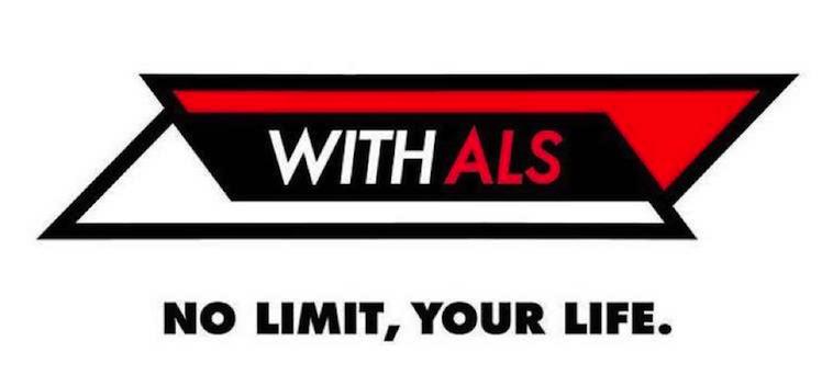 【写真】WITH ALS のロゴ