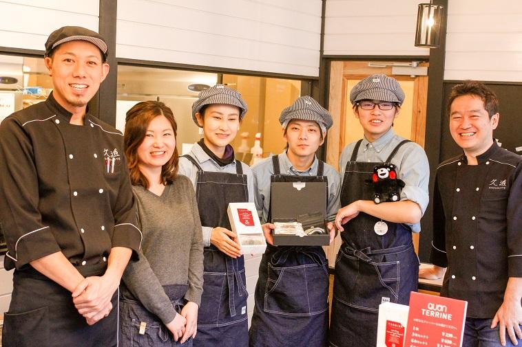 【写真】くおんチョコレート熊本店で働くスタッフの方々