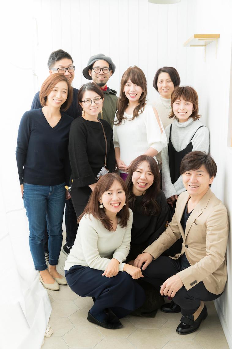 【写真】笑顔で並ぶあぴサポあいちのメンバー