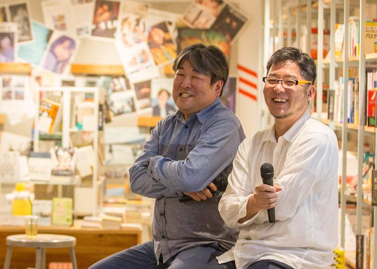 【写真】笑顔を浮かべる工房まるのお2人