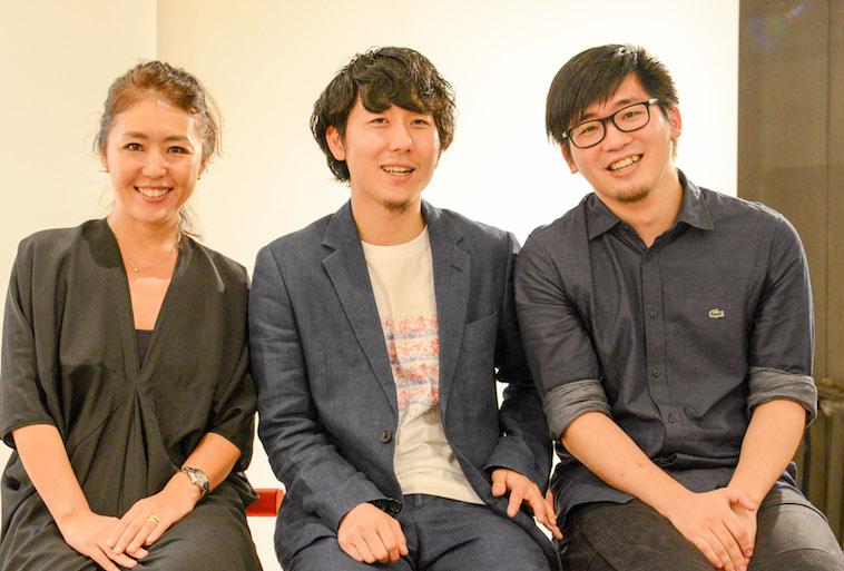 【写真】笑顔で並ぶ登壇者の3人
