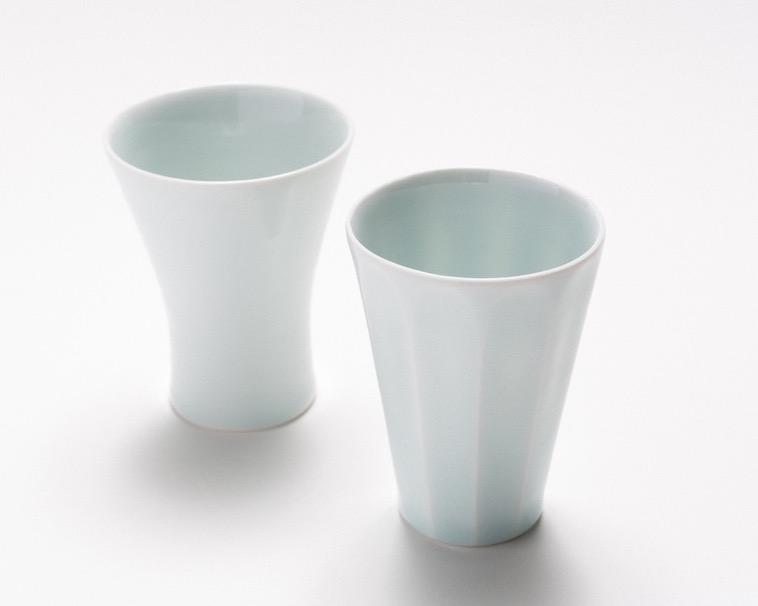 【写真】飲み物が飲みやすい形状のカップ