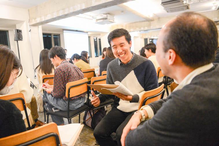 【写真】笑顔で話す参加者の方々