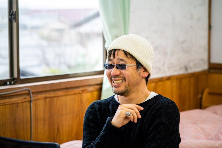 【写真】インタビューに応える笑顔の木ノ戸さん