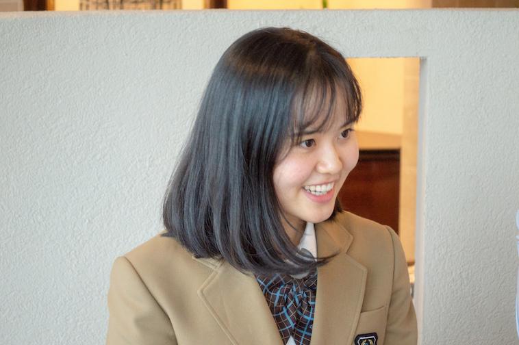 【写真】笑顔の話す妹ゆりあさん