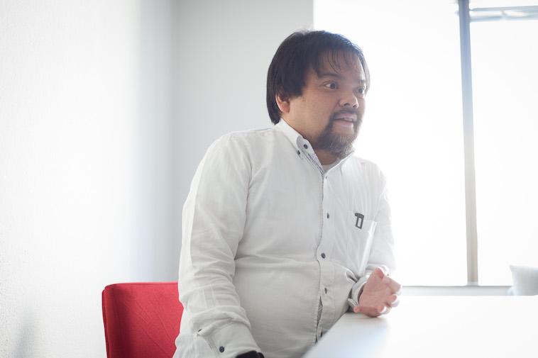【写真】インタビューに応える中根さん