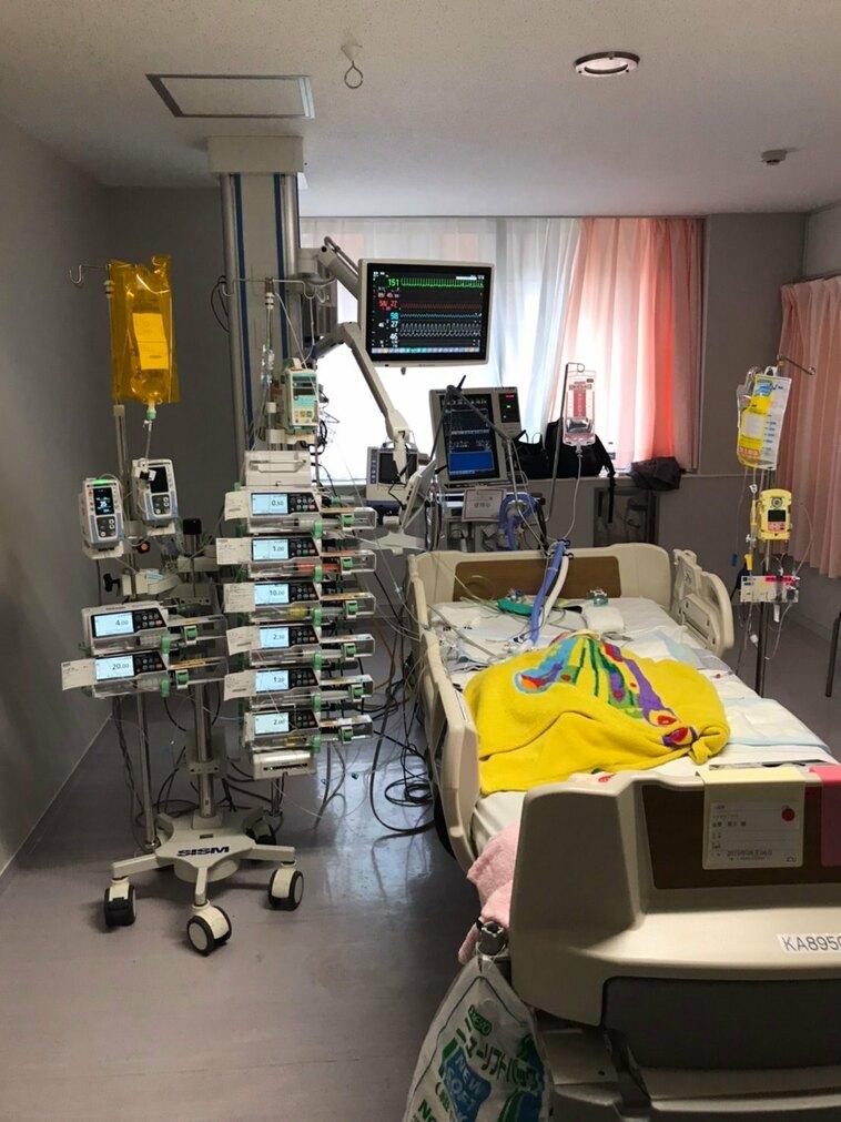 【写真】ICUの個室の様子