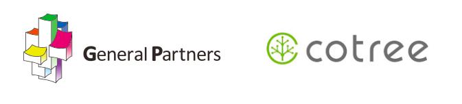 株式会社ゼネラルパートナーズと、株式会社ことりーのロゴ