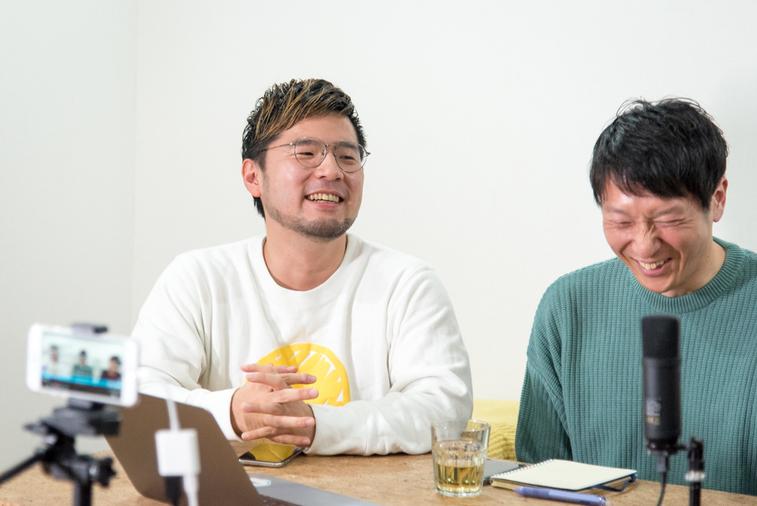 【写真】笑顔の外山さんと奥井さん